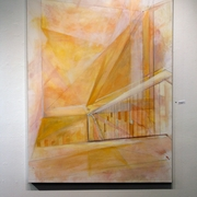"Rebekah Thompson, ""Space (Stairwell: Biggin)"" Department of Art & Art History Merit Award"