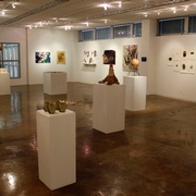 2015 Student Juried Exhibition and the Joyce and Roger Lethander Awards in Art (2015), installation view