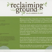 Reclaiming Ground