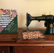 Sewing Machine Donated to Pebble Hill