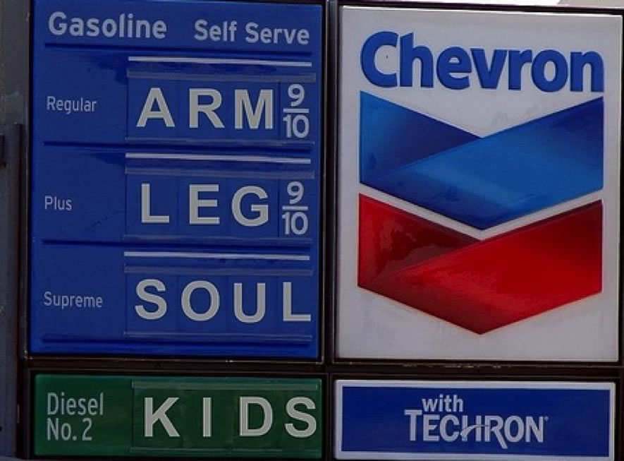 image of high gas prices