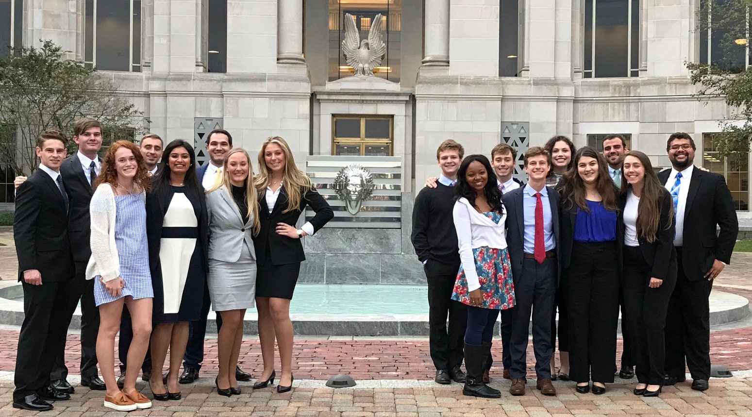 AU Mock Trial Team Scrimmage. US District Ct.11.01.17