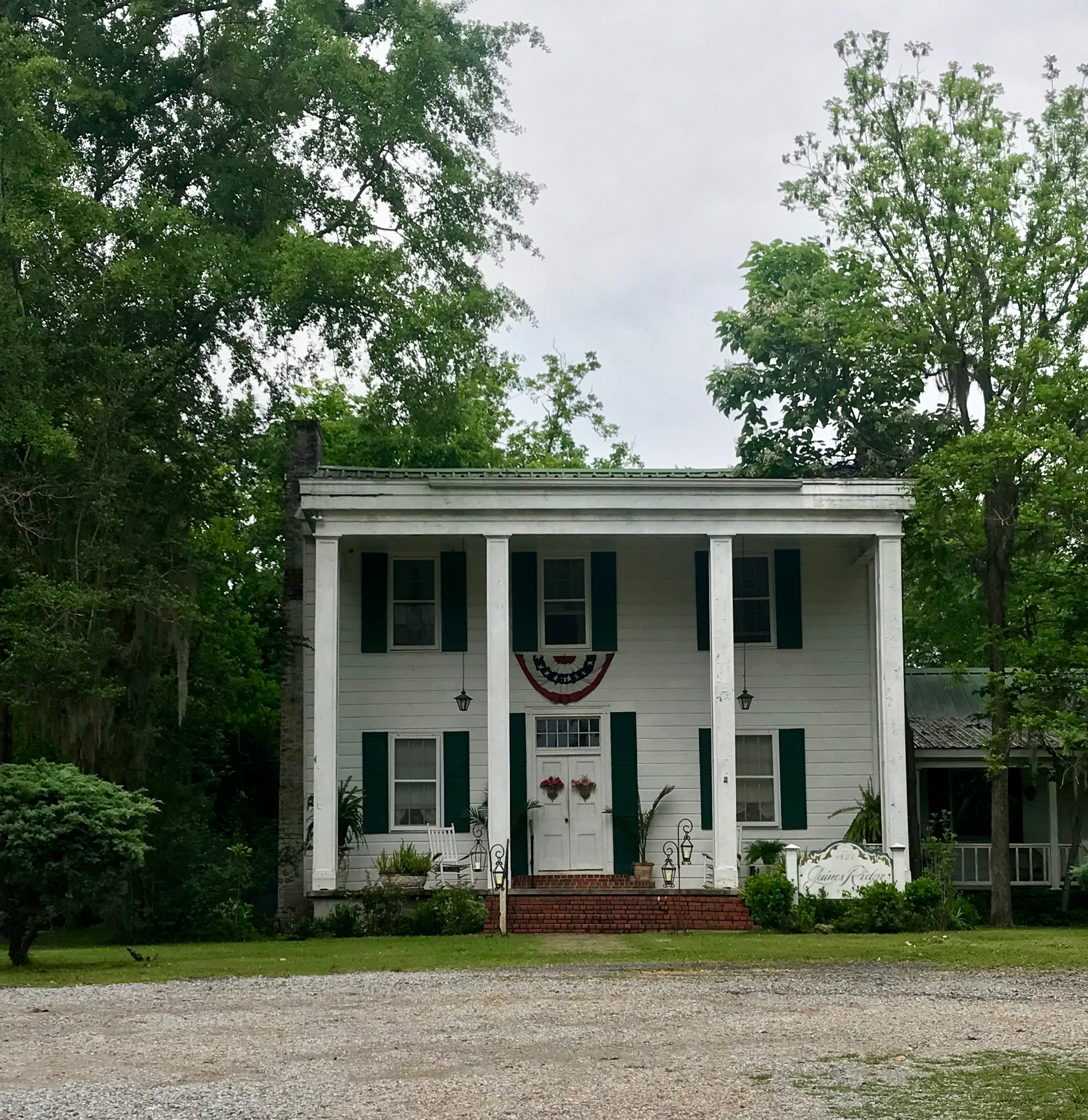 Betty Kennedy's home of Gaines Ridge