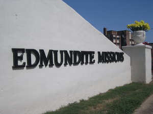 Edmundite Missions Sign in Selma, AL