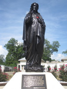Statue of Jesus in Selma, AL