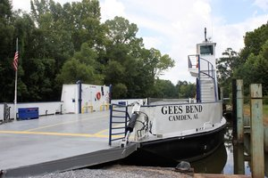 Gee's Bend ferry