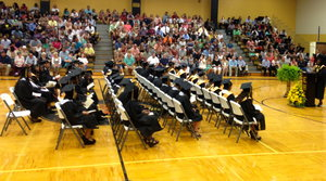 Elba High School graduation ceremony