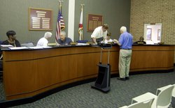 Elba City Council meeting