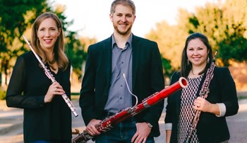 The Elicio Winds, a woodwind trio