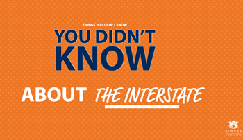 Things you didn't know about the interstate