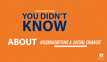 Things you didn't know you didn't know about organizations and social change