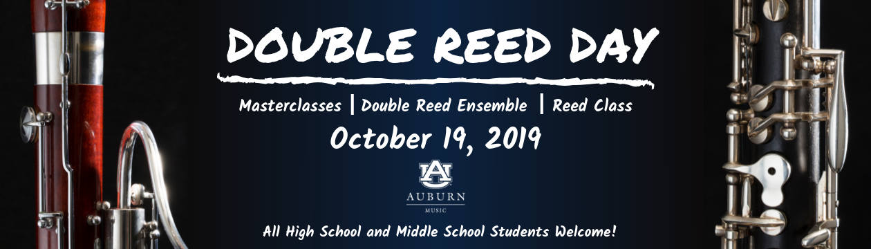 Double Reed Day October 19, 2019 - All high school and middle school students welcome!