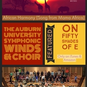 "The Auburn University Symphonic Winds & Choir is featured on Johan De Meij's new CD ""Fifty Shades of E"""