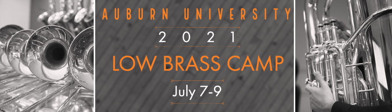 Low Brass Camp July 7-9, 2021