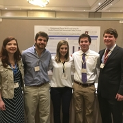 Undergraduate Students Present their research at Regional Conference