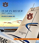 cover of Year in Review 2017-18 issue