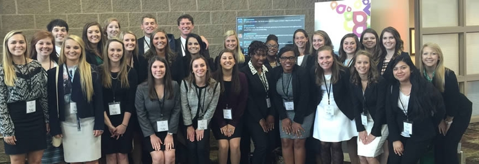 HADM majors attend the 2015 Mayo Clinic Transform Conference