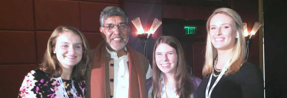 HADM Students with 2014 Nobel Peace Prize Laureate Kailash Satyarthi