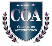 logo of Council on Acreditation