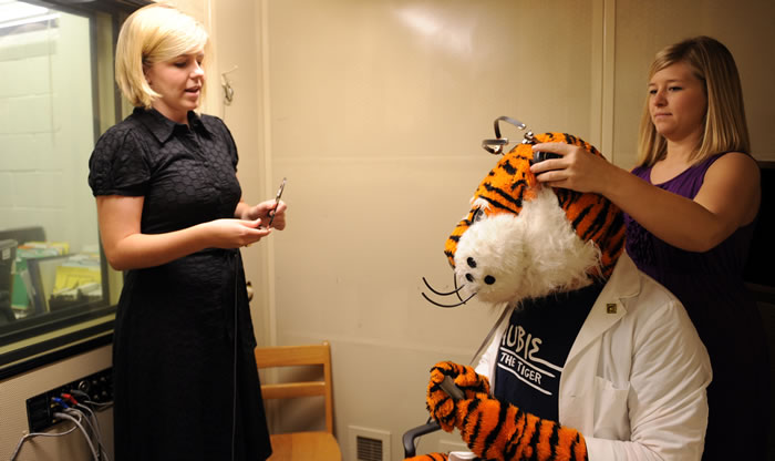 Aubie gets screening