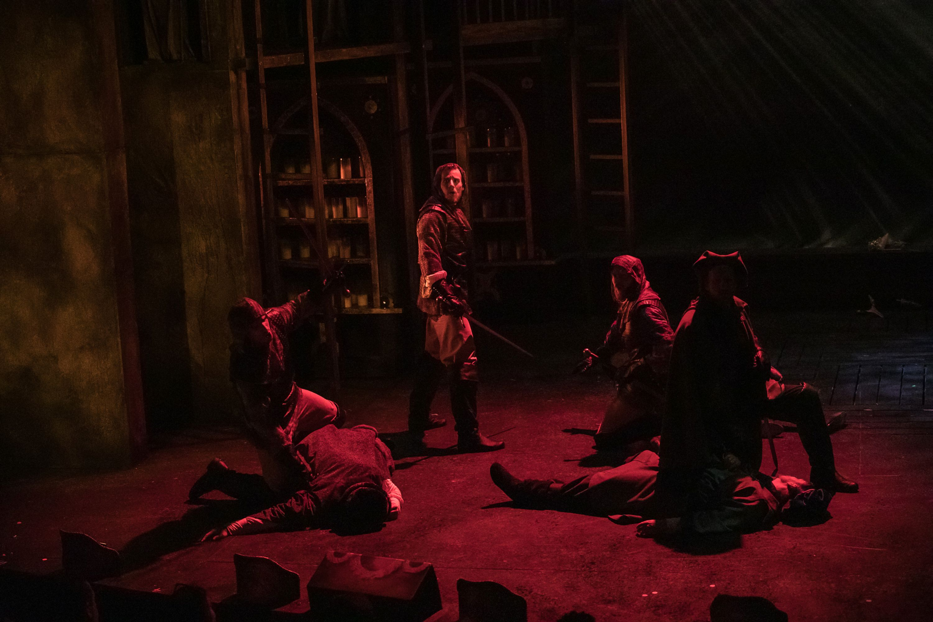 Ben Strickland in The Aurora Theatre's Production of The Hunchback of Notre Dame