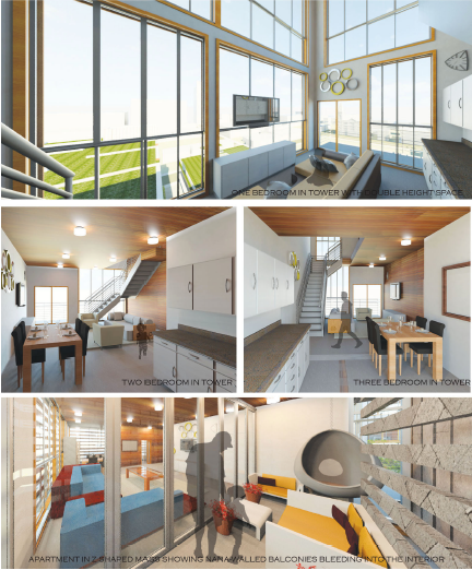 Collage Of Digital House Plans